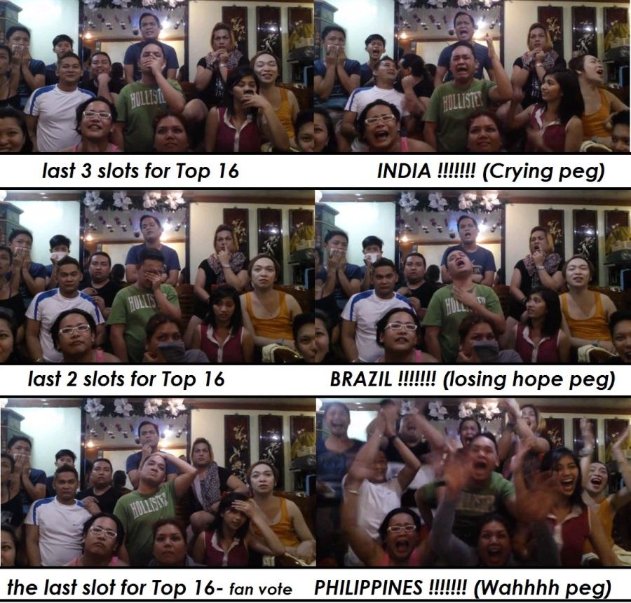 Beki reactions Tambayan ng mga Artista ( LILIW ) MissUniverse 2013 Top 16