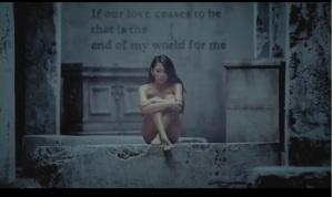 CL naked in Missing You 2NE1 MV