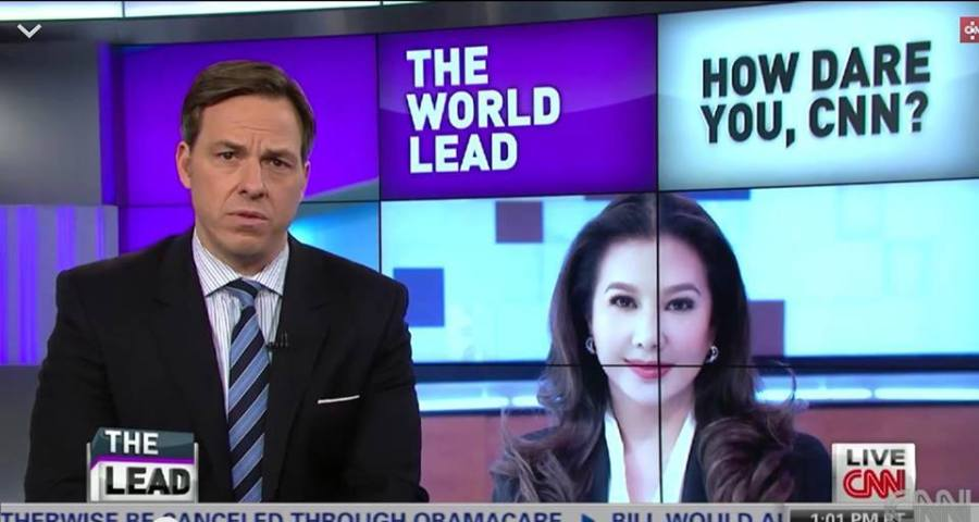 kORINA ON CNN NEWS