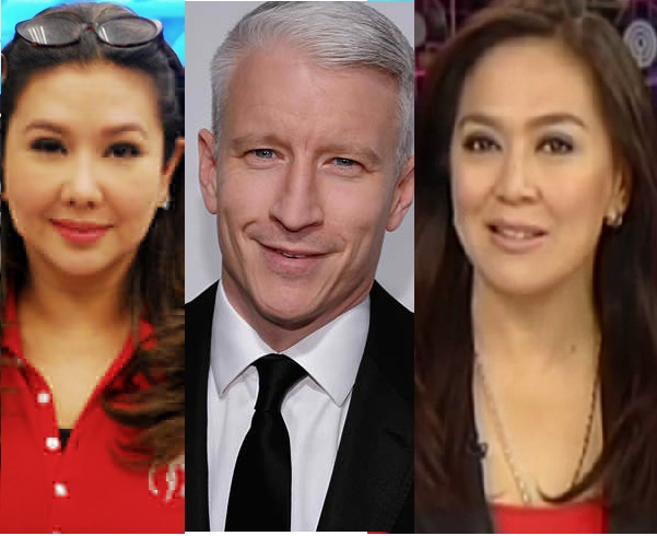 Korina Sanchez Lambasted by Netizens For Slamming CNN News anchor Anderson Cooper