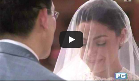 Maya, Sir Chief Exchange Wedding Vows [VIDEO]