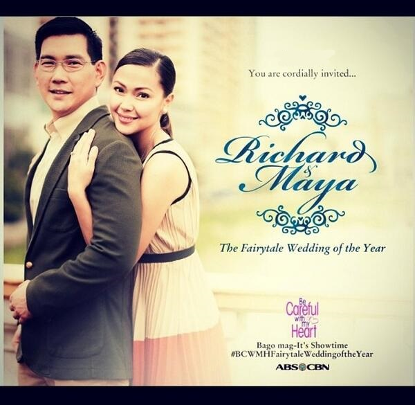 The Fairytale Wedding of the Year of Richard and Maya in Be Careful With My Heart