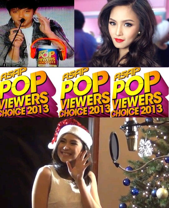 Winners from ASAP Pop Viewers' Choice Awards 2013 Revealed!; Sarah Geronimo, Daniel Padilla and Kim Chiu Win Big!