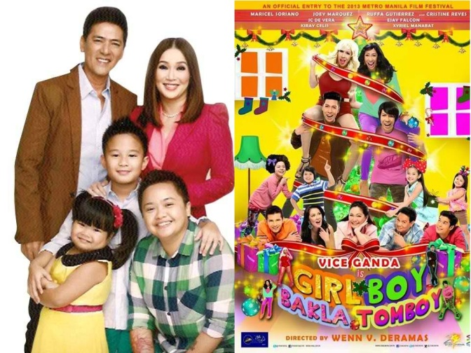 My Little Bossings and Girl, Boy, Bakla, Tomboy Are Neck-to-Neck for MMFF 2013 First Day Top Grosser