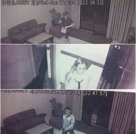 Actual CCTV Footage of Vhong Navarro, Deniece and Cedric in Condo Unit2
