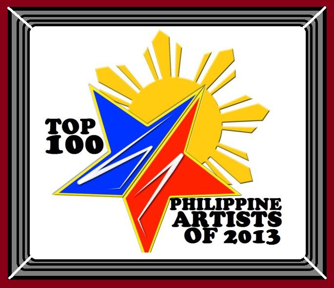 Top 100 Philippine Artist 2013