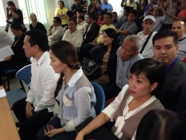 [VIDEO] Cedric Lee and Deniece Cornejo Attend Court Hearing