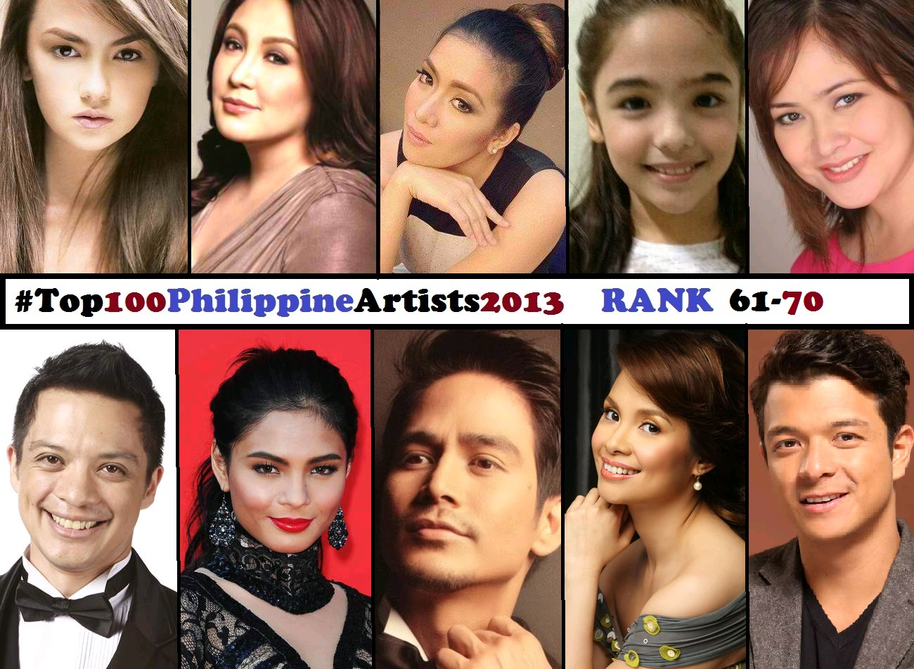 Angeline Quinto Sex Scandal top 100 philippine artists for 2013 [rank 61-70