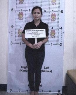 Deniece Cornejo's Mugshot Revealed After Her Surrender to PNP! [Photos]