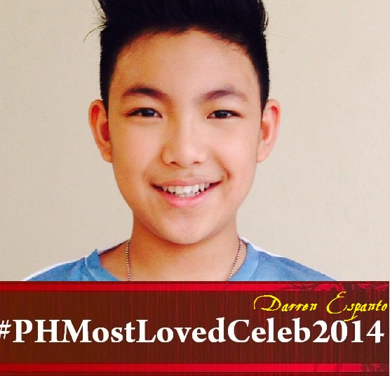 Darren Espanto Wins Philippines' Most Loved Celebrity 2014, Defeats Kim Chiu for the First Time!